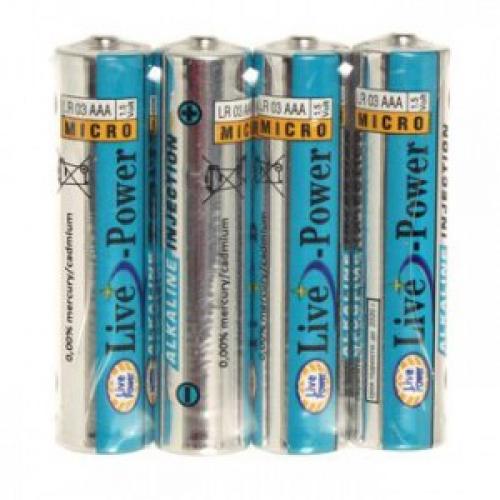 Батарейки Live Power 1.5 В LR03 АAA 2 шт.