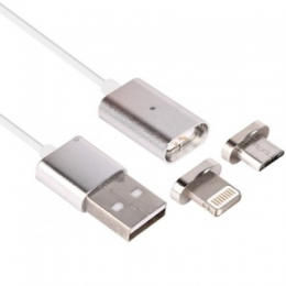 Магнитный USB кабель для iPhone 5/6/7 / Android