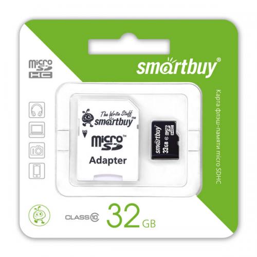 Карта памяти Smartbuy microSD (от 4 Гб до 32 Гб)