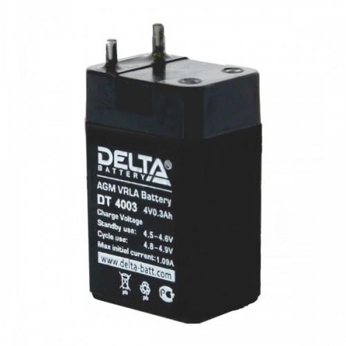 Аккумулятор DELTA DT 4003 (4В, 300мАч)