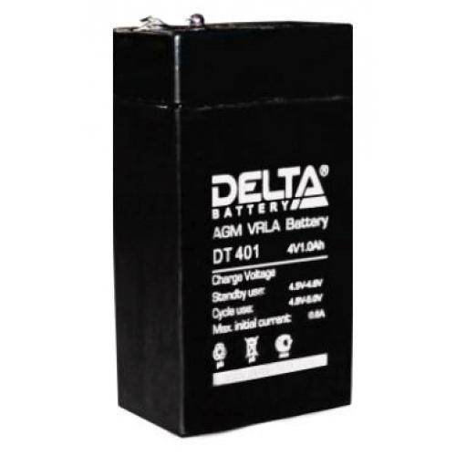 Аккумулятор DELTA DT 401 (4В, 1000мАч)