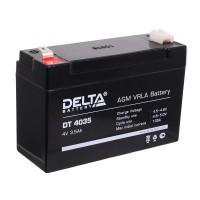 Аккумулятор DELTA DT 4035 (4В, 3500 мАч)