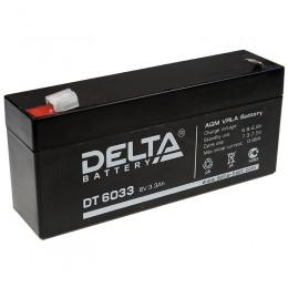 Аккумулятор DELTA DT 6033 (125) (6В, 3300мАч)