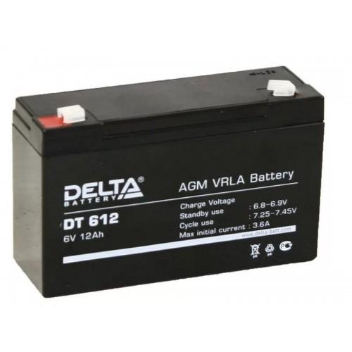 Аккумулятор DELTA DT 612 (6В, 12000мАч)