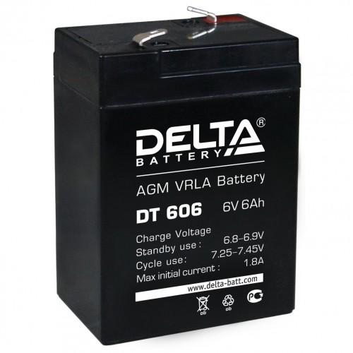 Аккумулятор DELTA DT 606 (6В, 6000мАч)