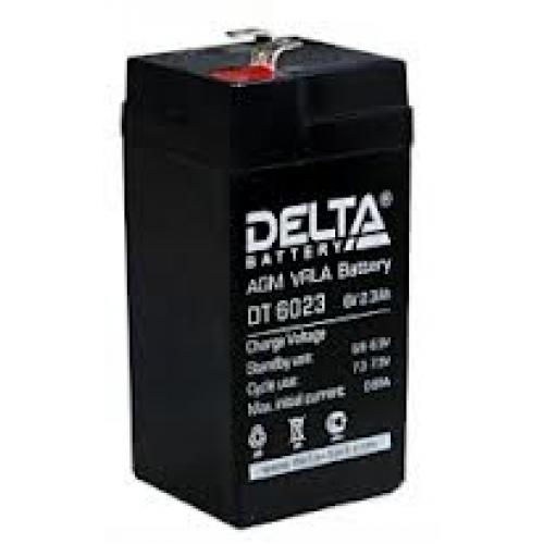 Аккумулятор DELTA DT 6023 (75) (6В, 2300мАч)