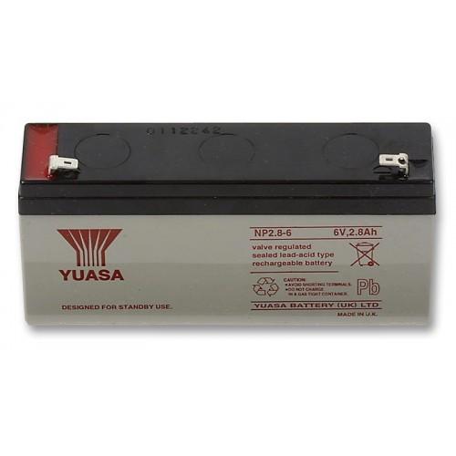 Аккумулятор Yuasa NP 2.8-6 (6В, 2800 мАч)