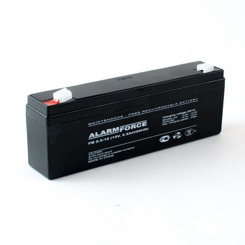 Аккумулятор Alarm Force FB 2.3-12 (12В, 2300мАч)