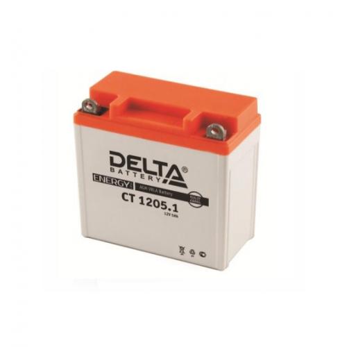 Аккумулятор (moto) DELTA CT 1205.1 (12В, 5000мАч)
