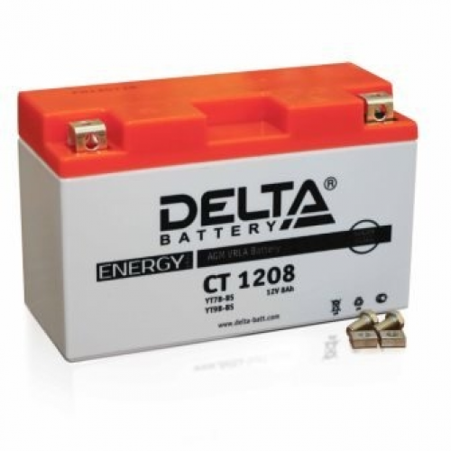 Аккумулятор (moto) DELTA (12В, 8000мАч и 14000мАч)