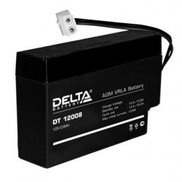 Аккумулятор DELTA DT 12008 (12В, 800мАч)