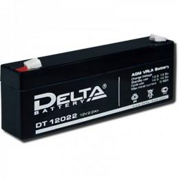 Аккумулятор DELTA DT 12022 (12В, 2200 мАч)