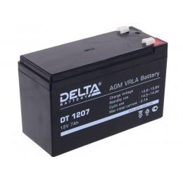 Аккумулятор DELTA DT 1207 (12В, 7000 мАч)