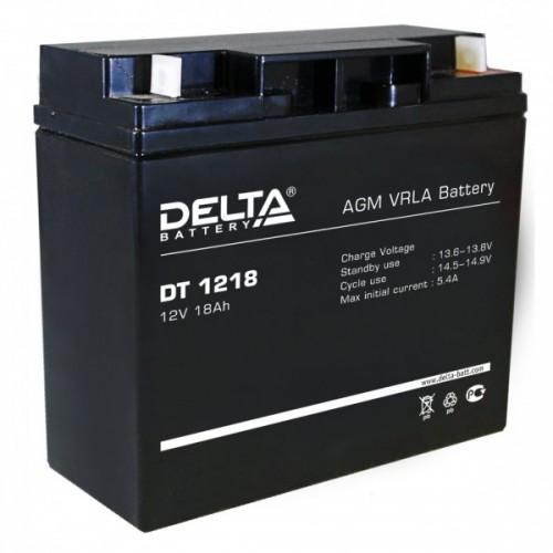Аккумулятор DELTA DT 1218 (12В, 18000 мАч)