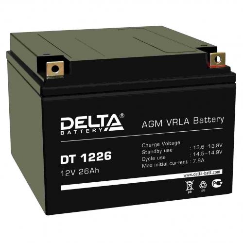 Аккумулятор DELTA DT 1226 (12В, 26000мАч)