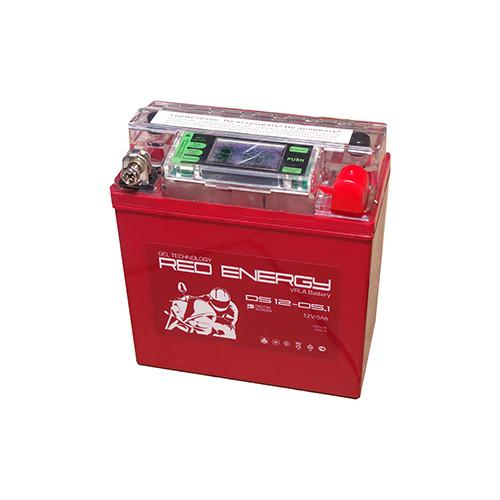 Аккумулятор RED ENERGY DS 12-05.1 (12В, 5000мАч)