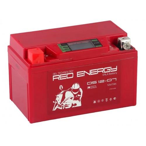 Аккумулятор RED ENERGY DS 12-07 (12В, 7000мАч)