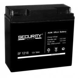 Аккумулятор Security Force SF 1218 (12В, 18000мАч)