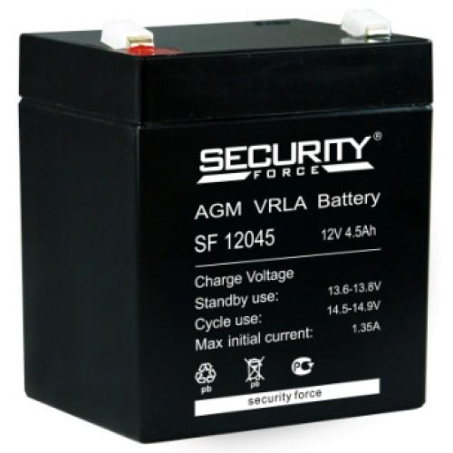 Аккумулятор Security Force SF 12045 (12В, 4500мАч)
