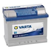 Аккумулятор VARTA Blue Dynamic  60Ah/540 прав.+ (низкий)  (242x175x175).