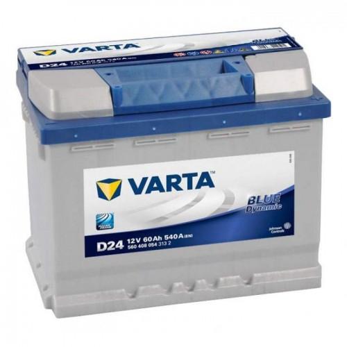 Аккумулятор VARTA Blue Dynamic  60Ah/540 прав.+