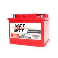 Аккумулятор WATTBATT 60Ah/510 лев + (242х175х190)
