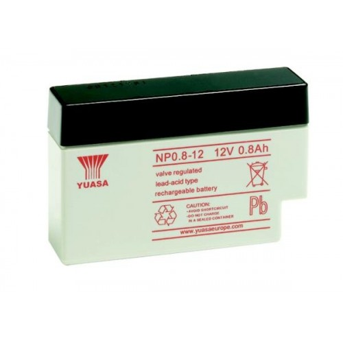 Аккумулятор Yuasa NP 0.8-12 (12В, 800 мАч)