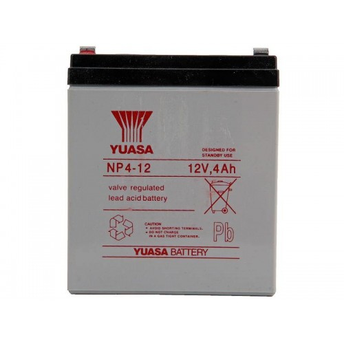 Аккумулятор Yuasa NP 4-12 (12В, 4000 мАч)