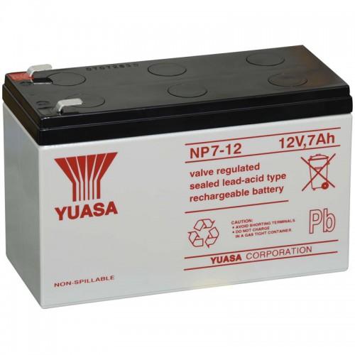 Аккумулятор Yuasa NP 7-12 (12В, 7000 мАч)