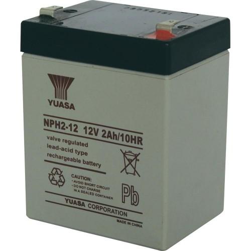 Аккумулятор Yuasa NPH 2-12 (12В, 2000 мАч)