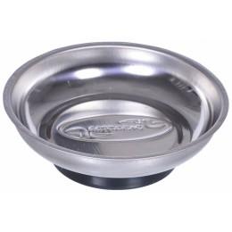 Миска металлическая магнитная для крепежа круглая D-107ММ.(АВТОDЕЛО)
