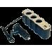 Разветвитель прикуривателя с USB black (ASP-3U-07)