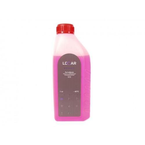 Антифриз LECAR (-40) красный G12  1 кг