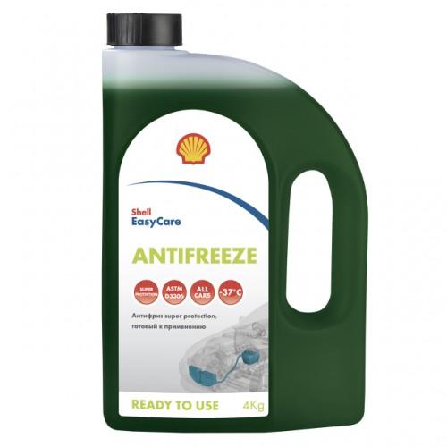 Антифриз SHELL Super protection зеленый G11  4 кг
