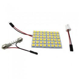 Светодиодная панель 12V, 16smd, 30*30мм, белый свет