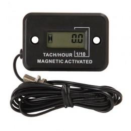 Магнитный счётчик моточасов + тахометр для дизельных ДВС