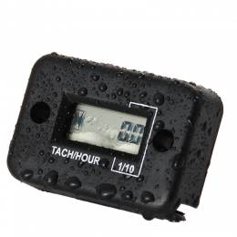Индукционный счётчик моточасов + тахометр