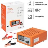 Зарядное устройство AIRLINE(ACH-AM-17) 0-7А 12В, амперметр, ручная регулировка зарядного тока, импульсное