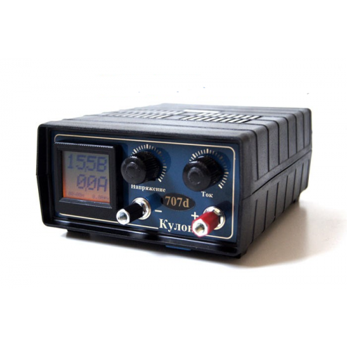 Зарядное устройство Кулон-707D с ручной регулировкой тока и напряжения