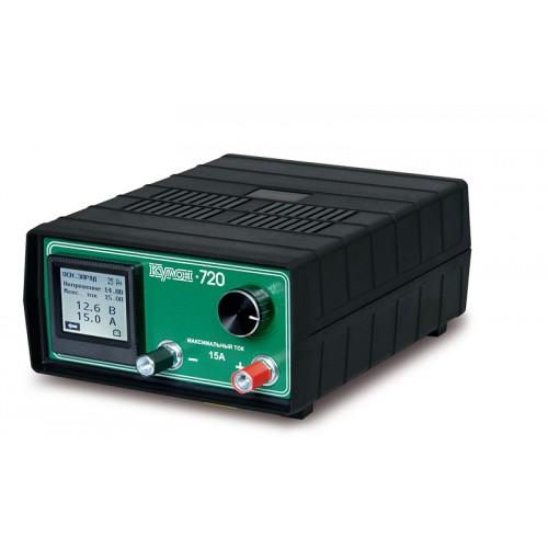 Зарядное устройство Кулон-720 для батарей с напряжением 6-12В