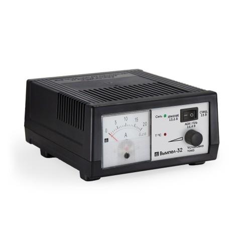 Зарядное устройство Вымпел-32 (для лодочных, тяговых, GEL, AGM аккумуляторов)