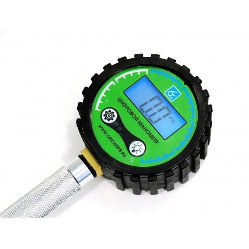 Компрессометр прижимной, цифровой КМ-05