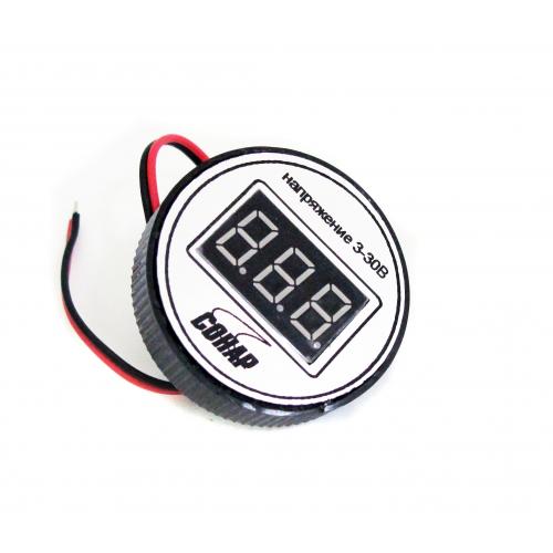 Вольтметр герметичный 3-30 В