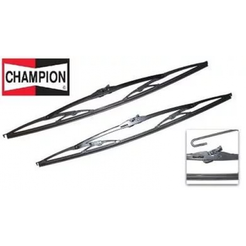 Щетки (2 шт.) каркасные  Champion ХЕ (от 330мм до 550мм)