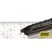 Щетка бескаркасная Heyner Super Flat Premium (от 330мм до 700мм)