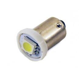 Светодиодная лампа T4W (BA9S) 1SMD (5050) WHITE