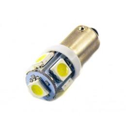 Светодиодная лампа T4W (BA9S) 5SMD (5050) WHITE