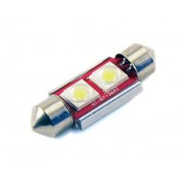 Светодиодная лампа C5W (36 ММ) 2SMD (COB) CAN BUS WHITE