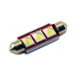Светодиодная лампа C5W (39 ММ) 3SMD (COB) CAN BUS WHITE
