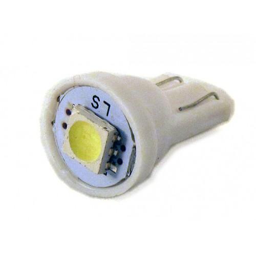 Светодиодная лампа W5W (T10) 1SMD (5050) WHITE